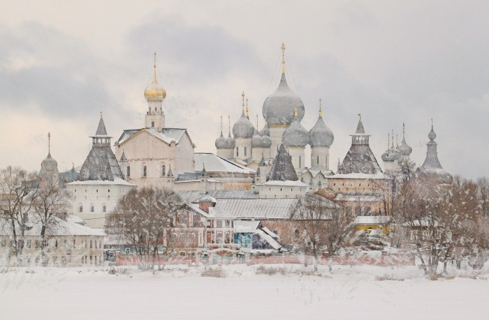 Winter family weekend in Rostov